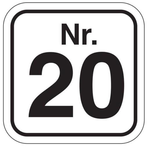 Nr.20. piktogram skilt