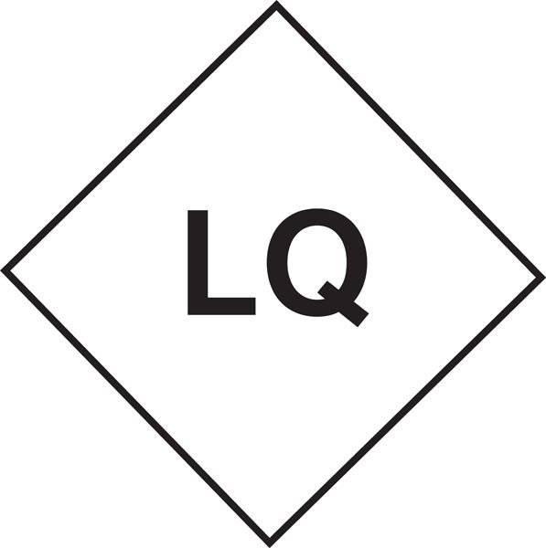 Farlig gods-LQ skilt
