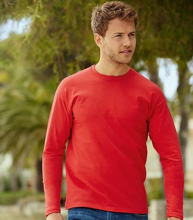 T-shirt Valueweight Long Sleeve. tøjprint