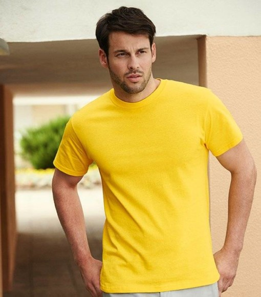 T-shirt Heavy Cotton T. Tøjtryk