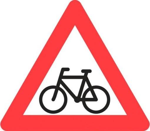 Advarselsskilt - Cyklister
