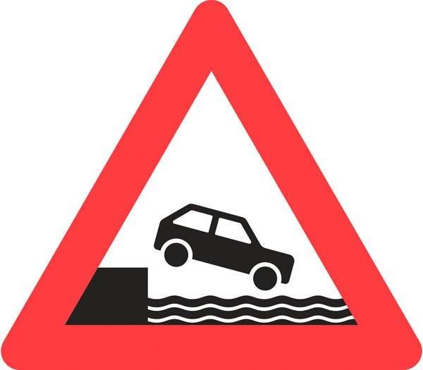 Advarselsskilt - Havnekaj