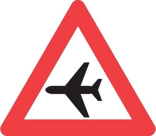 Advarselsskilt - Fly