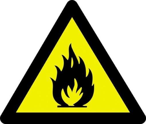 Advarselsskilt - Brandfare