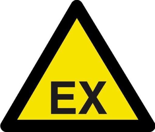 Advarselsskilt - EX fare