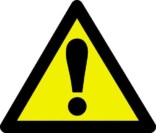 Advarselsskilt - Fare