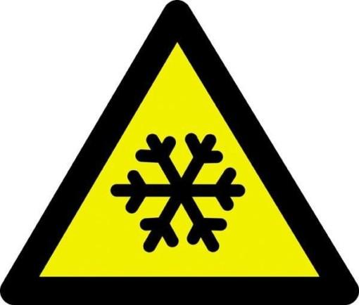 Advarselsskilt - Frostfare