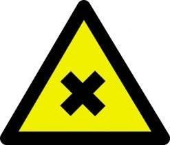 Advarselsskilt - Skadelige stoffer