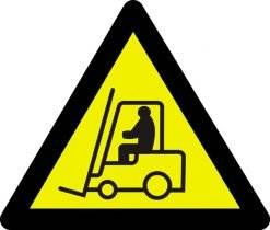 Advarselsskilt - Truckfare