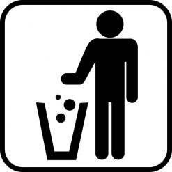 Affaldsskilte