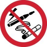 Al rygning forbudt. Rygeforbudsskilt