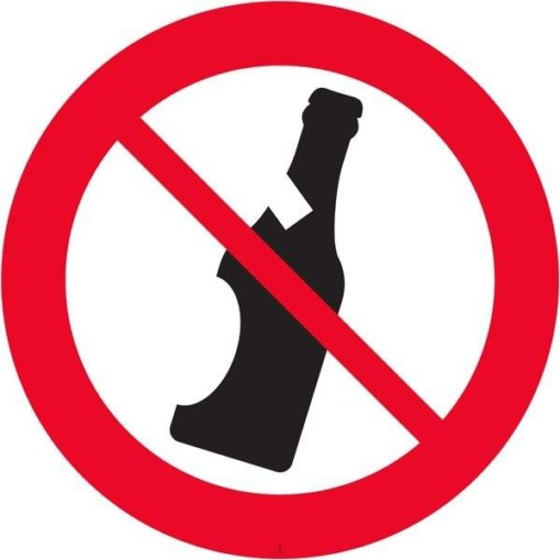 Alkoholforbudsskilt