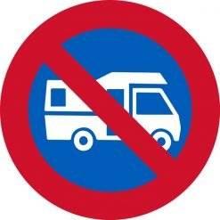 Parkering forbudt skilte