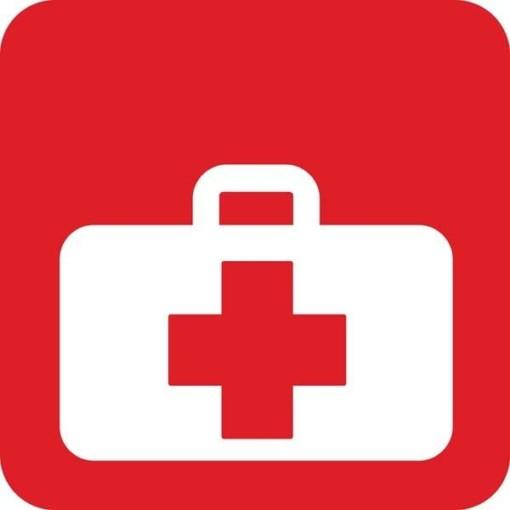 Førstehjælpstaske Redningsskilt