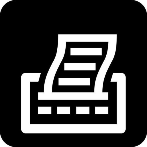 Printer Piktogram skilt