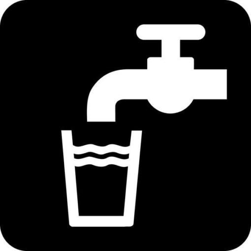 Drikkevand Piktogram skilt