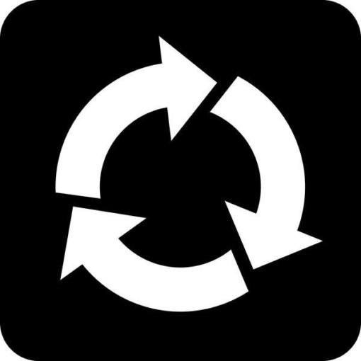 Genbrug Piktogram skilt