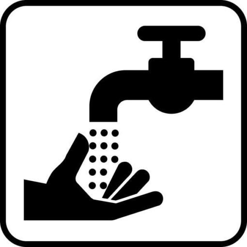 Håndvask. Piktogram skilt