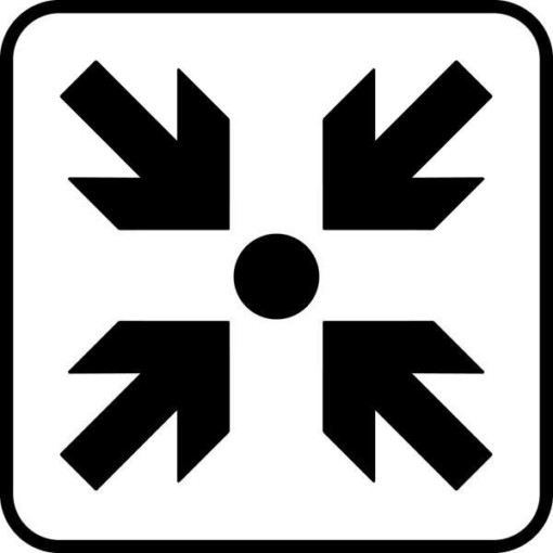 Mødested Piktogram skilt