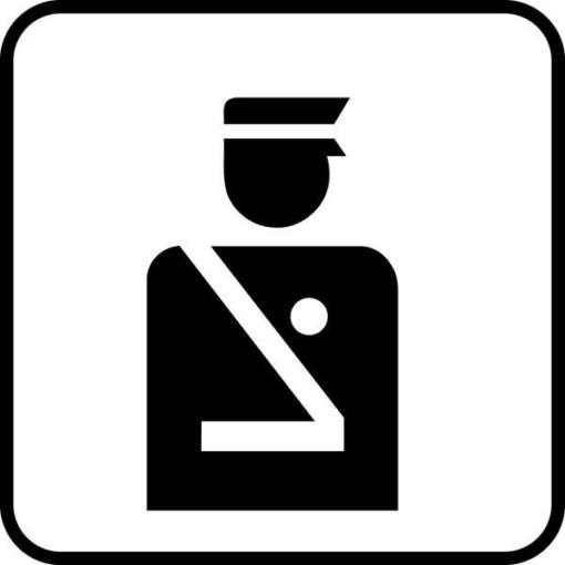 Politi Piktogram skilt