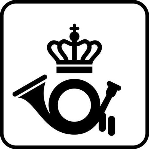 Post Piktogram skilt