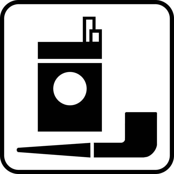 Tobaksvare Piktogram skilt