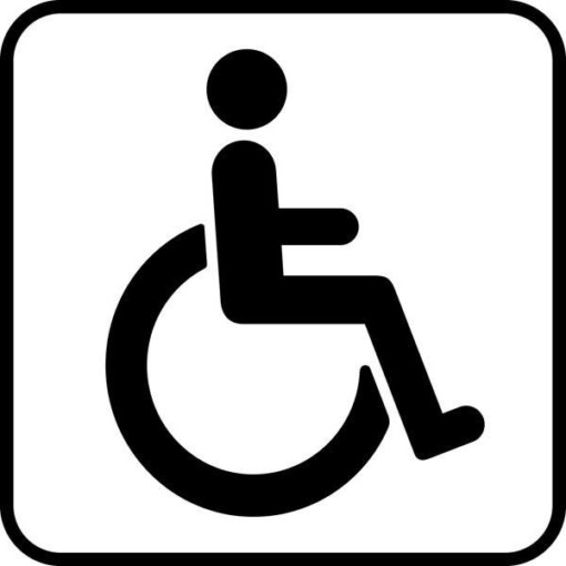 Handicap Piktogram skilt