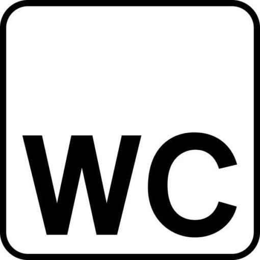 WC Piktogram skilt