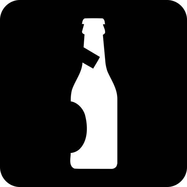 Øl. Piktogram skilt