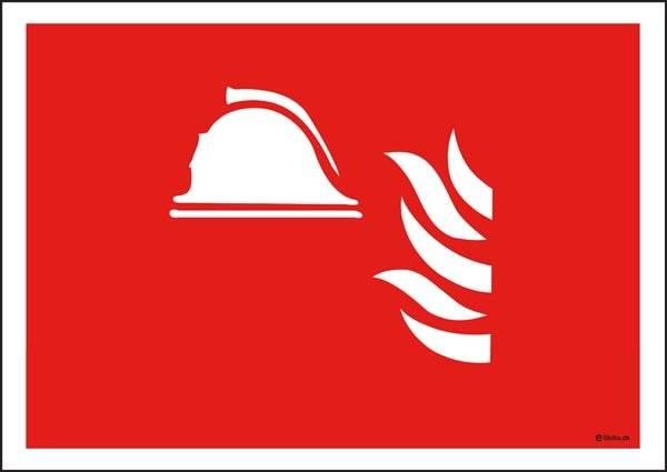 Brandskilt Brandskilt