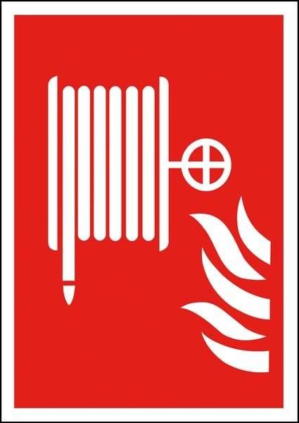 Brandslange Brandskilt