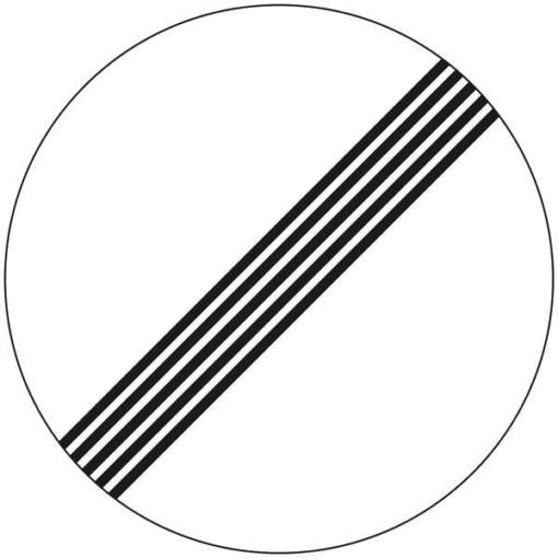 C59 Ophørsstavle skilt