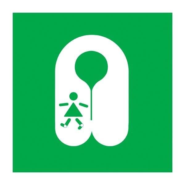Childs Lifejacket Redningsskilt