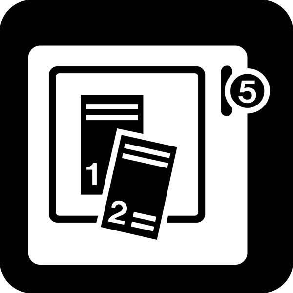 Billetautomat Piktogram skilt