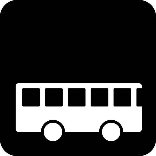 Bus Piktogram skilt