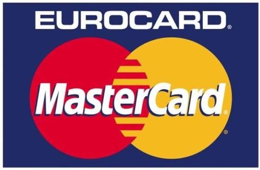 Eurocard MasterCard skilt
