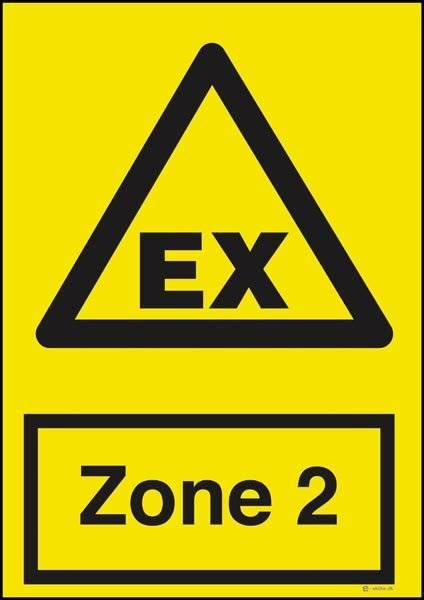 Advarselsskilt - EX Zone
