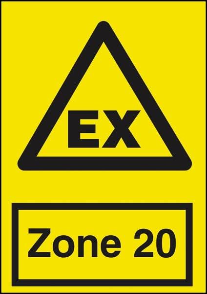 Advarselsskilt - EX Zone 20
