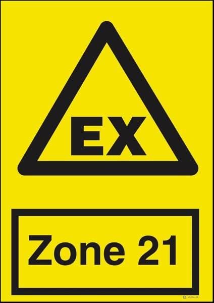 Advarselsskilt - EX Zone 21