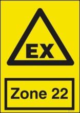 Advarselsskilt - EX Zone22
