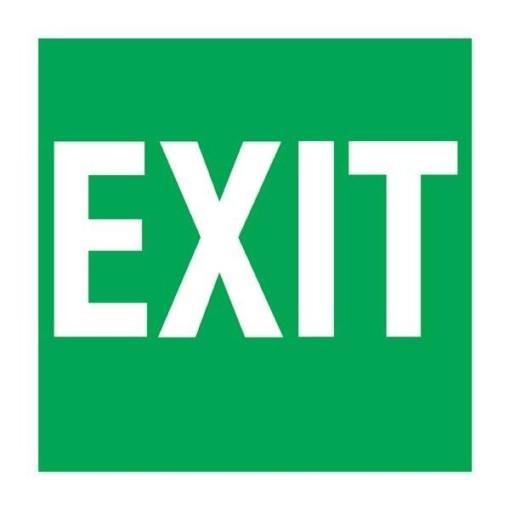 Exit  Redningsskilt