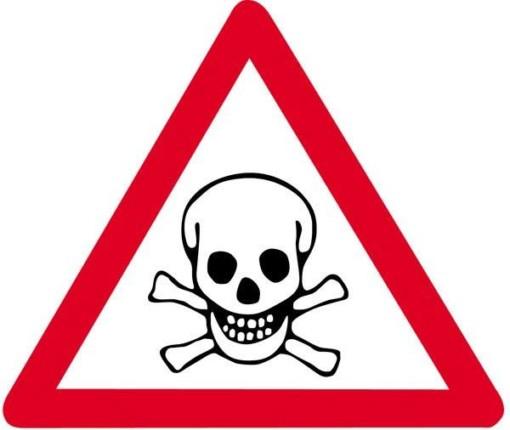 Advarselsskilt - Giftstoffer