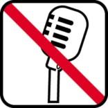 Optagelse forbud. - piktogram skilt