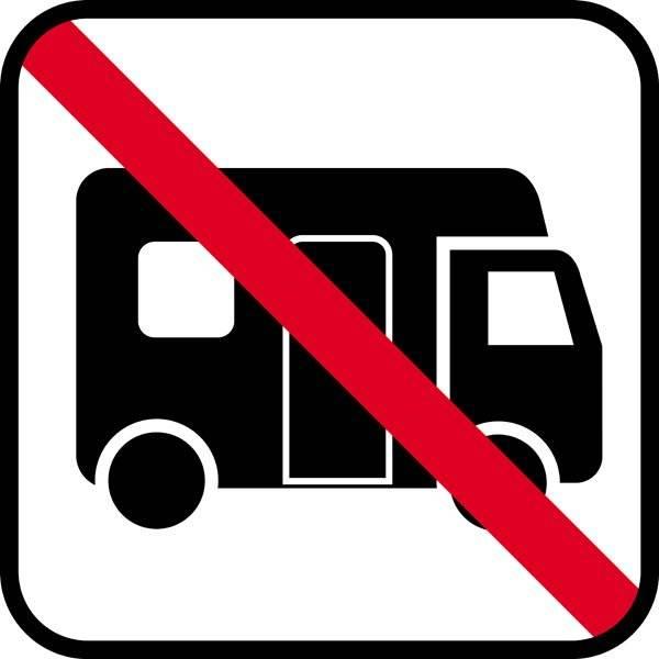 Mobilcar forbud skilt  - piktogram
