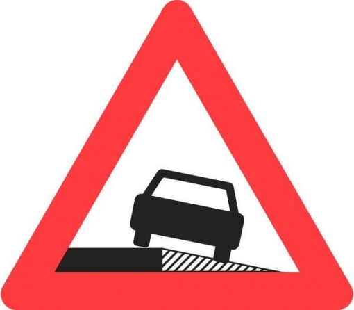 Advarselsskilt - Farlig rabat