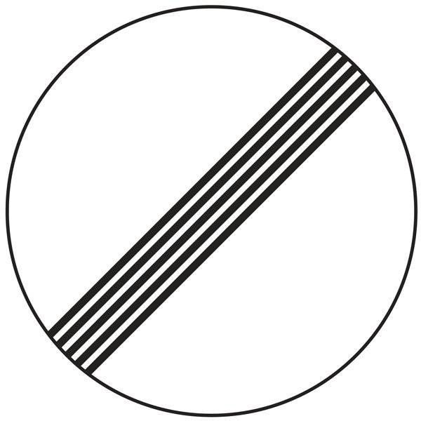 C59 Ophør af forbud. Skilt