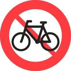 Cykel forbudsskilte