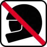 Beklædning forbudt skilte