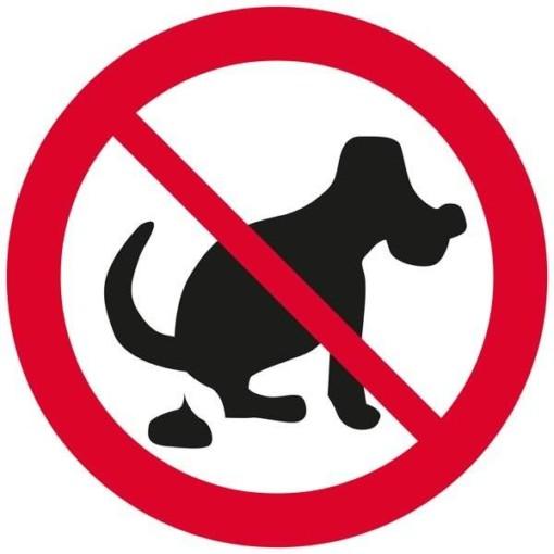 Hundelorte forbudsskilt
