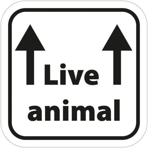 Live animal. piktogram